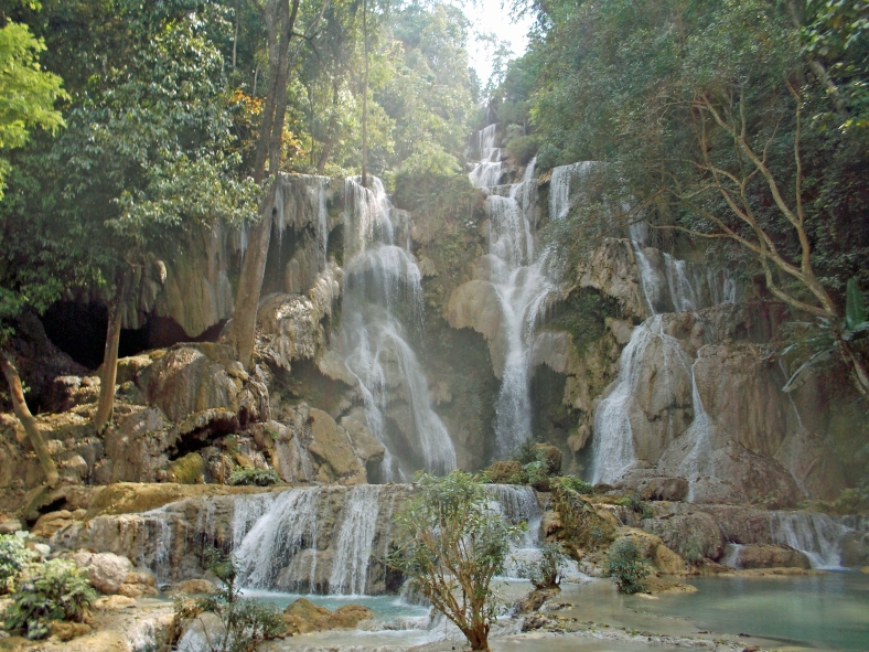 Kuangsi Waterfall Top
