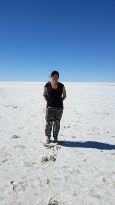 Me at Lake Eyre