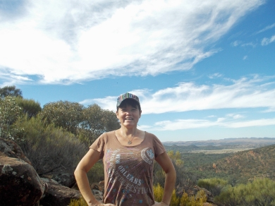 Me at Wilpena Pound