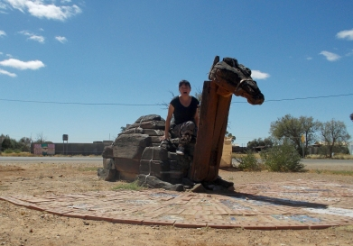Me on Marree Camel