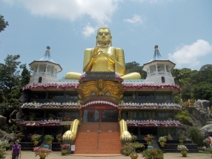 Dambulla Golden Temple Out