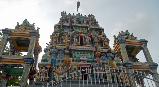 Negombo Hindu Temple Action Figures